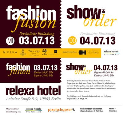 Fashion Fusion 2013 Relexa Hotel